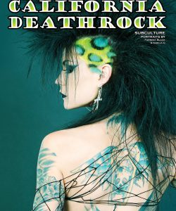 Malice McMunn on the Book Cover of California Deathrock