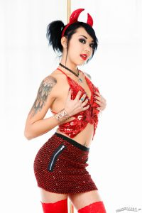 Devil Kimberly Chi Shows You A Hell Of A Hot Time